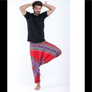Men's Dashiki Print Harem Pants 🔥